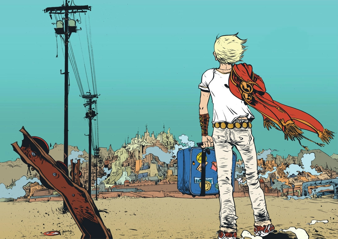 Battling Boy Image courtesy of Paul Pope and First Second