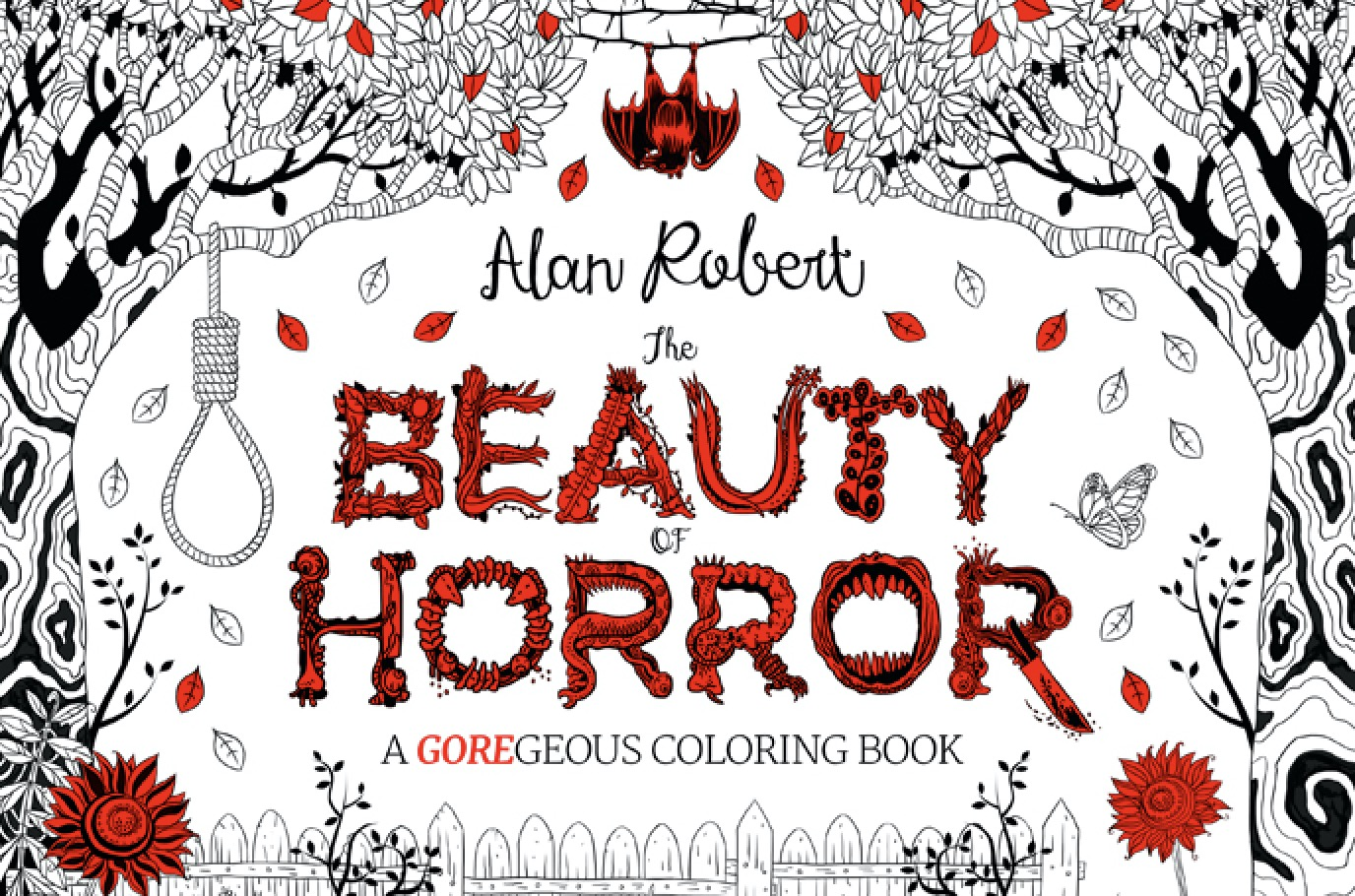 First Look Idw S The Beauty Of Horror Coloring Book Bloody
