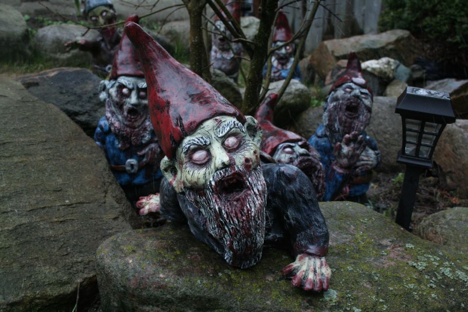 Scared of Lawn Gnomes? These Will Only Make Things Worse - Bloody