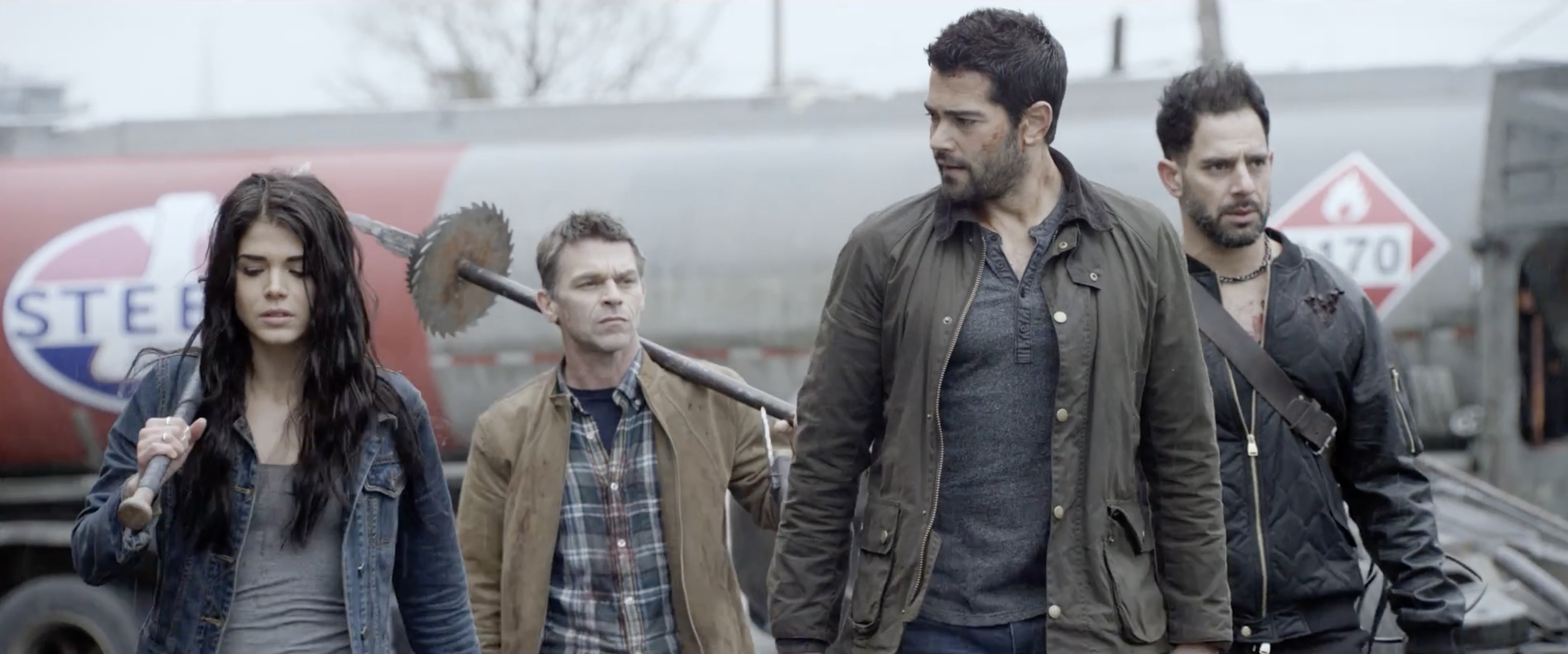 Dead Rising Endgame Survivors Strut With Their Weapon Of Choice