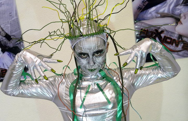 SHODAN Cosplay Boldly Brings 'System Shock' to Life - Bloody