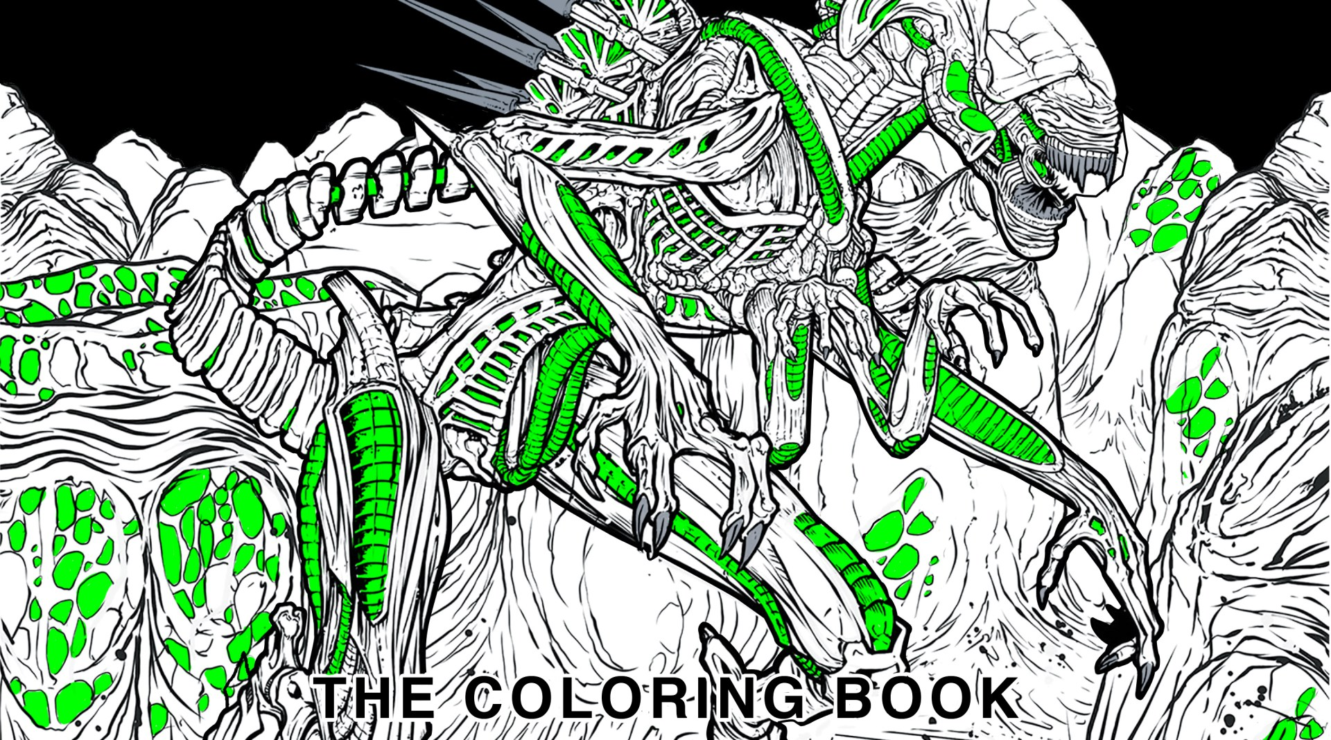 Sweet Alien Coloring Book Hits In May Exclusive Bloody Disgusting