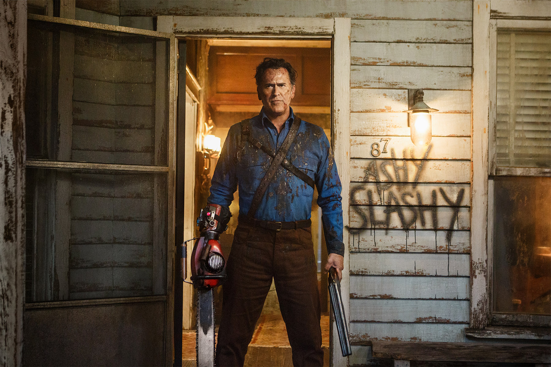 So What S Going On With Ash Vs Evil Dead Season 3 Bloody Disgusting