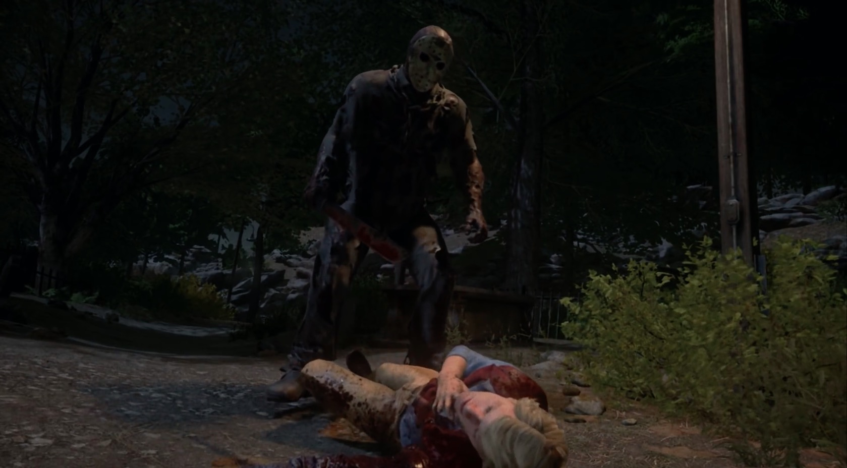 Montage Of Kills From The Quot Friday The 13th Quot Game Bloody