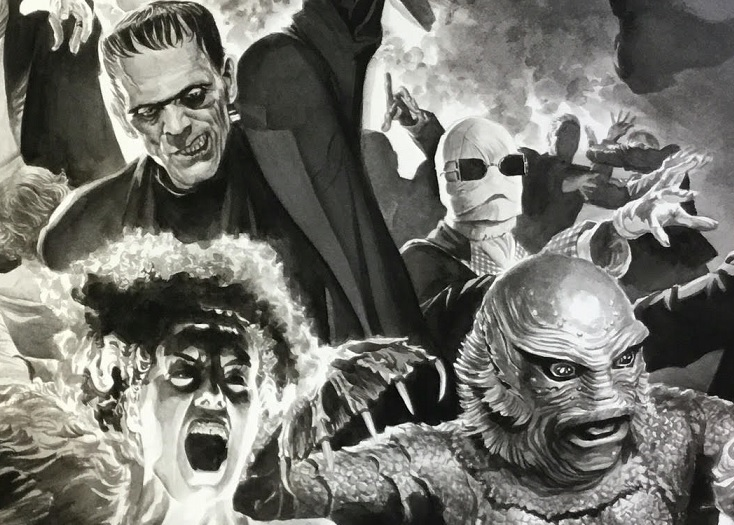 Comic Book Artist Alex Ross Turns His Attention To The Universal Monsters Bloody Disgusting