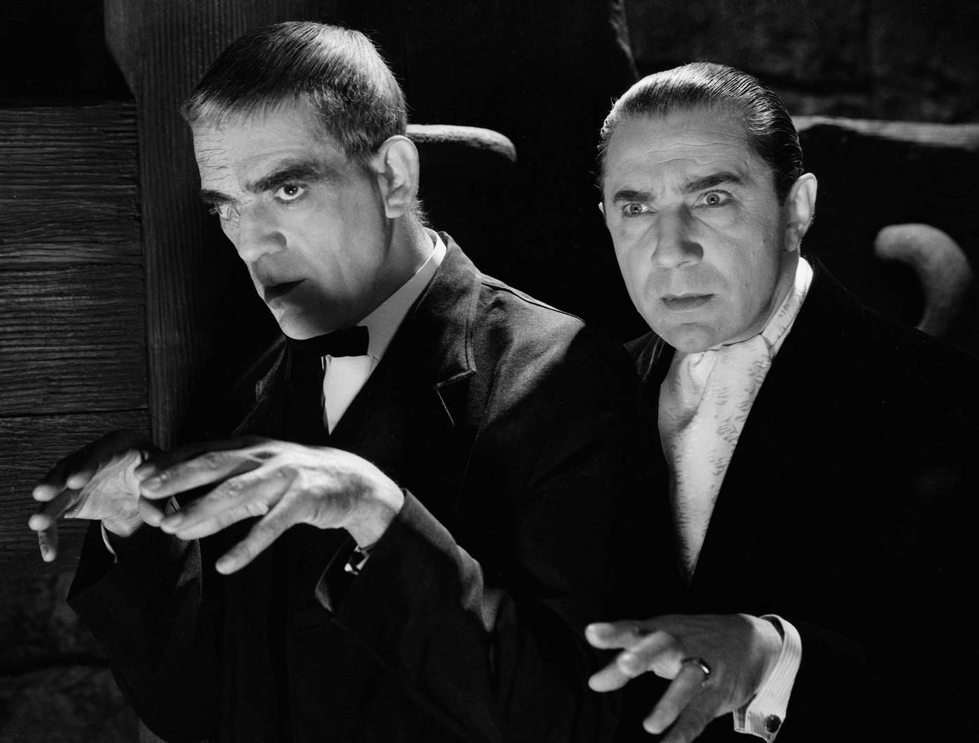 Demons of the Film Colony – When Bela Lugosi Met Boris ...  |Boris Karloff Bela Lugosi