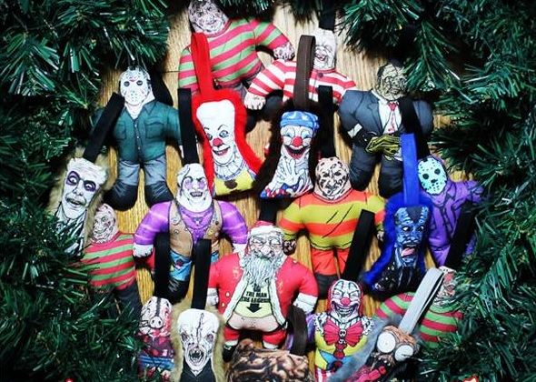 Horror Christmas Ornaments.Decorate Your Tree With Horror Decor S Horror Villain