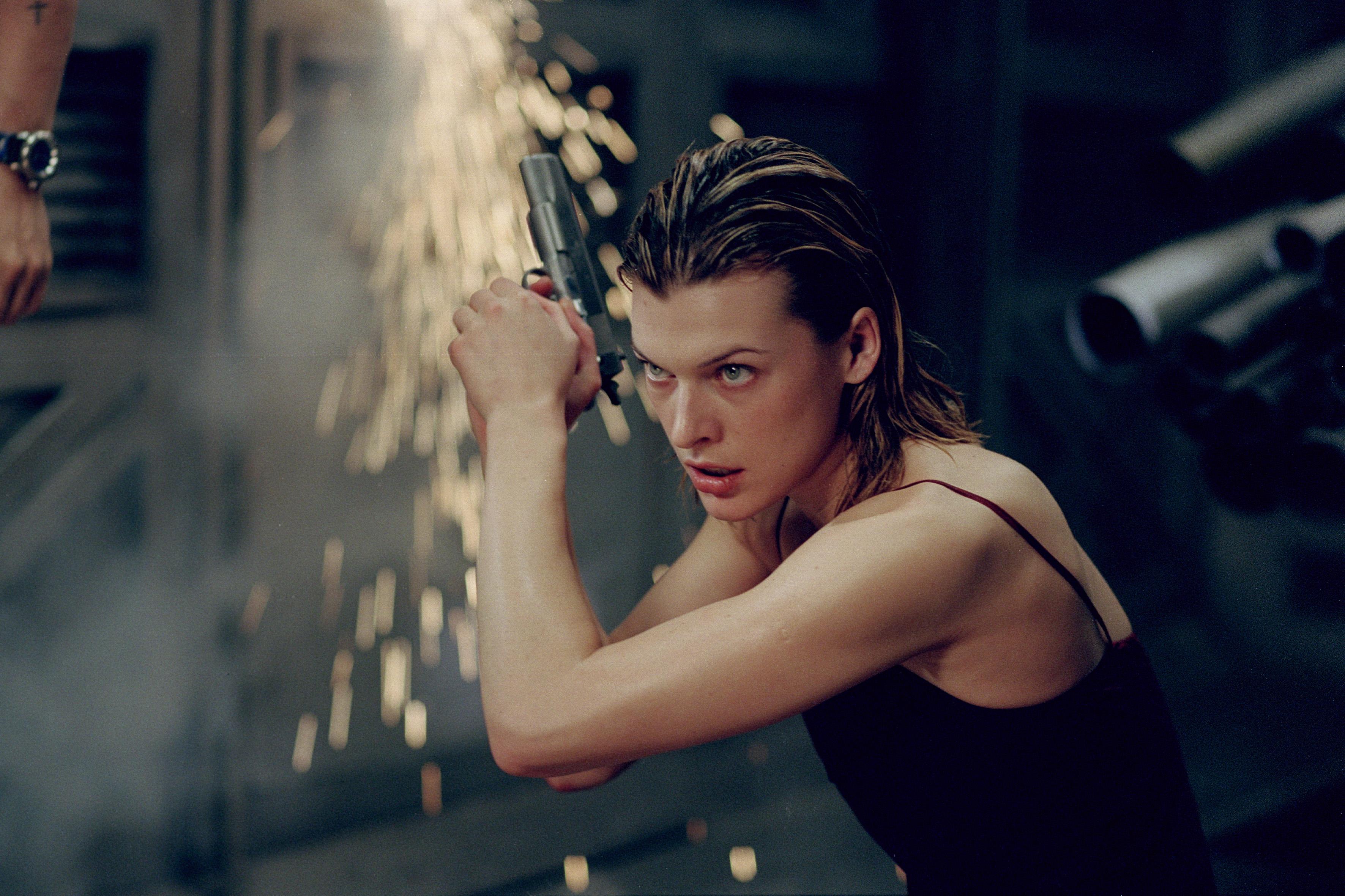 Think, Resident evil movie girl