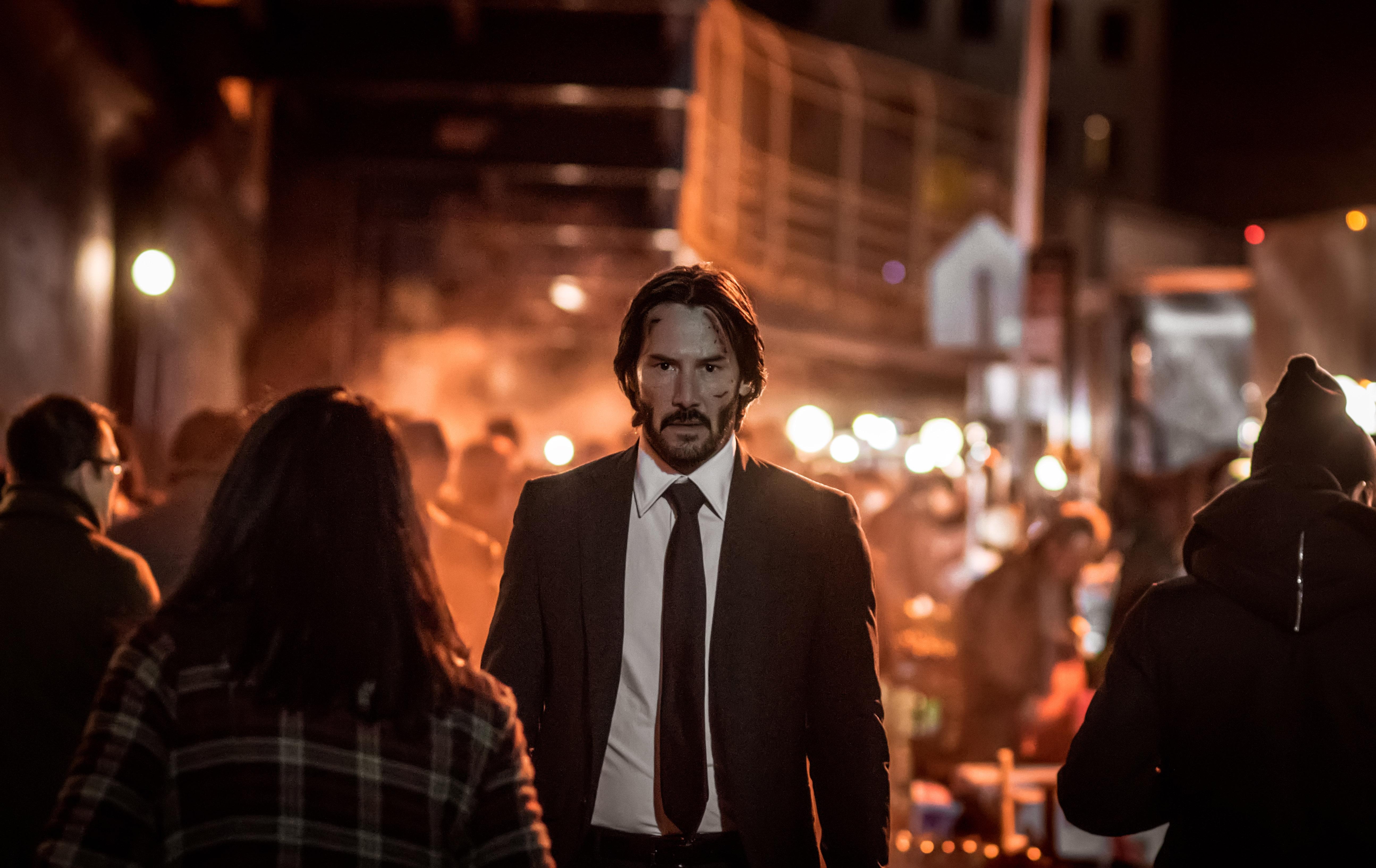 Keanu Reeves Stars As John Wick In John Wick Chapter 2 Bloody