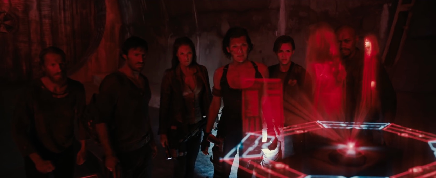 There S A Traitor In These Resident Evil The Final Chapter Tv