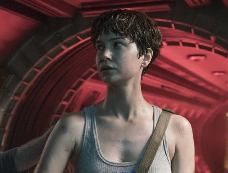 Here S Another Look At Katherine Waterston In Alien Covenant Bloody Disgusting