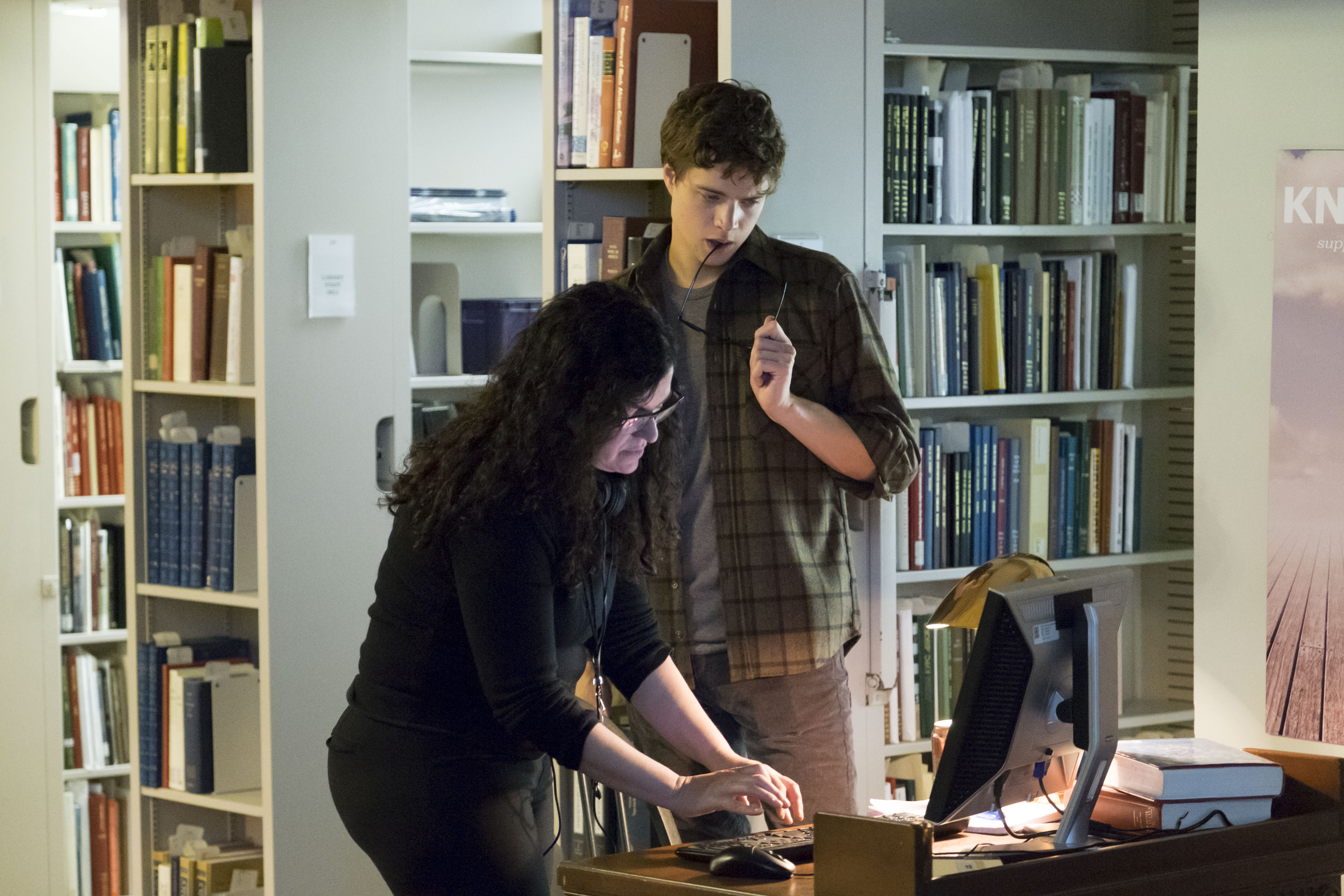 (Left to Right) Stacy Title and Douglas Smith in THE BYE BYE MAN