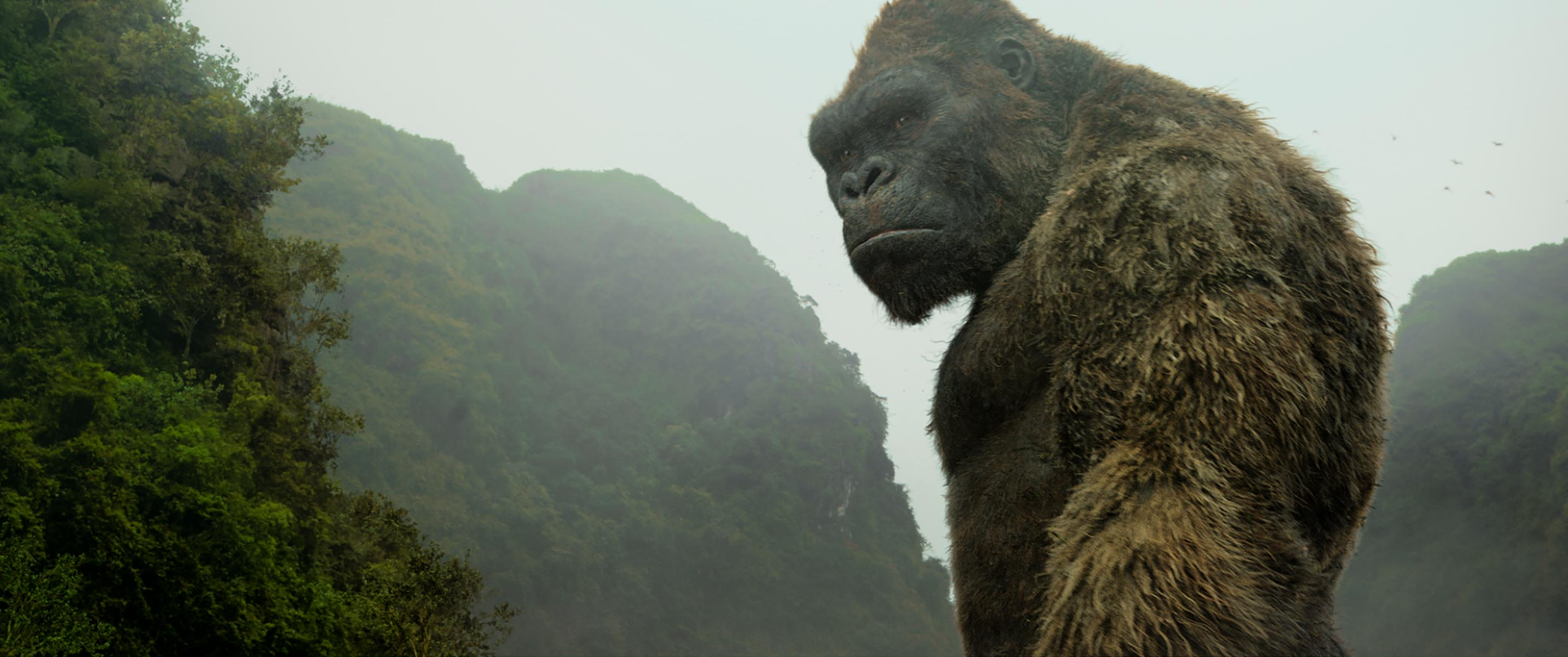 Another Kong Skull Island Poster Shows Off The King S Size