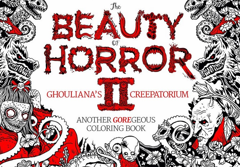 Exclusive We Ve Got Your First Look At Creepy Coloring Book The
