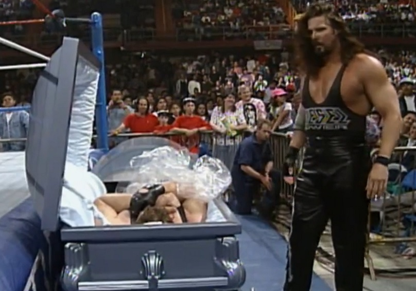 Wrestling's Scariest Moments: Diesel Finds His Own Body in