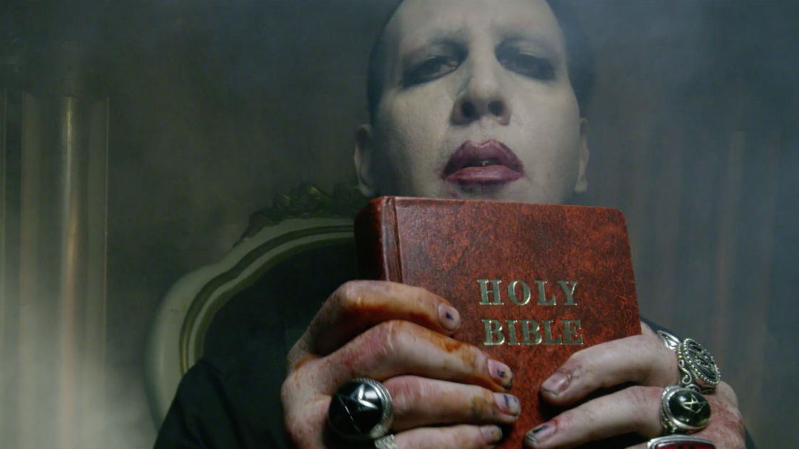 marilyn manson releasing new single this week bloody disgusting. Black Bedroom Furniture Sets. Home Design Ideas