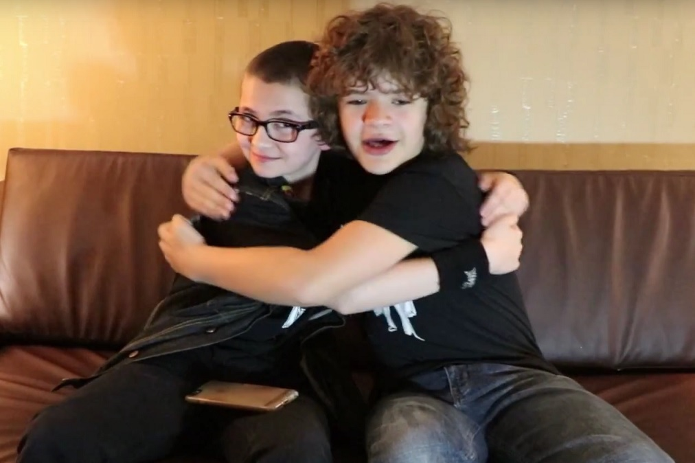 Kids Last Year When Stranger Things Hit Netflix But Perhaps No Character Became More Instantly Beloved Than Dustin Played By Gaten Matarazzo