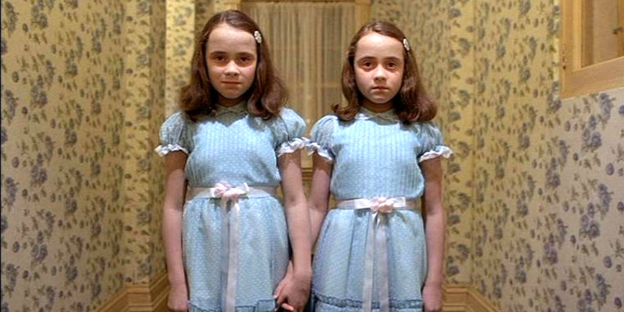 Father of Twin Girls Reveals Fun 'The Shining' Hotel Prank