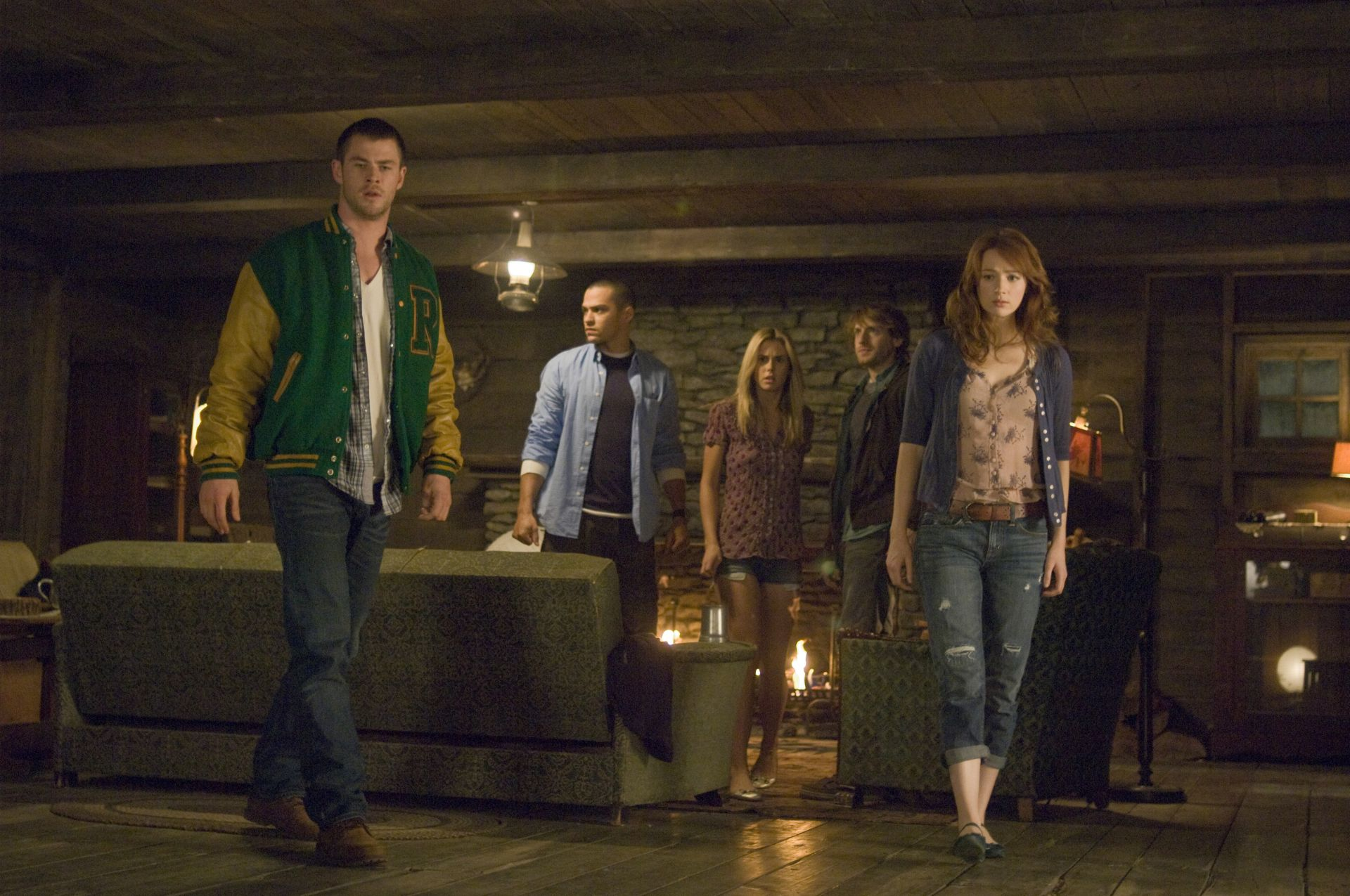 Image result for cabin in the woods