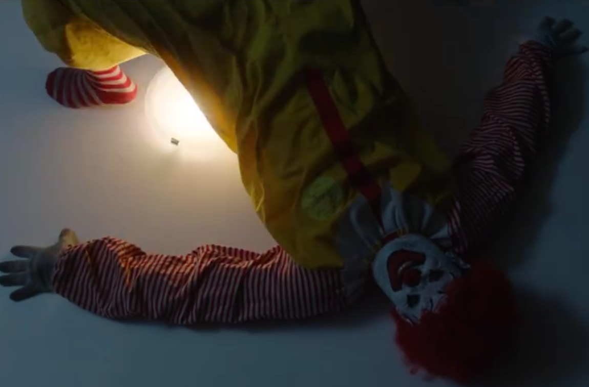 we're loving this fake trailer for ronald mcdonald horror movie