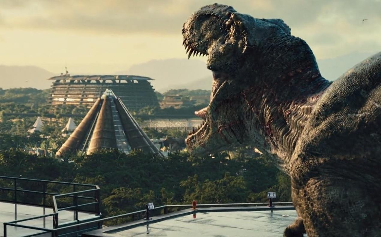 Jurassic Park T Rex Roar The Classic T-Rex Will...