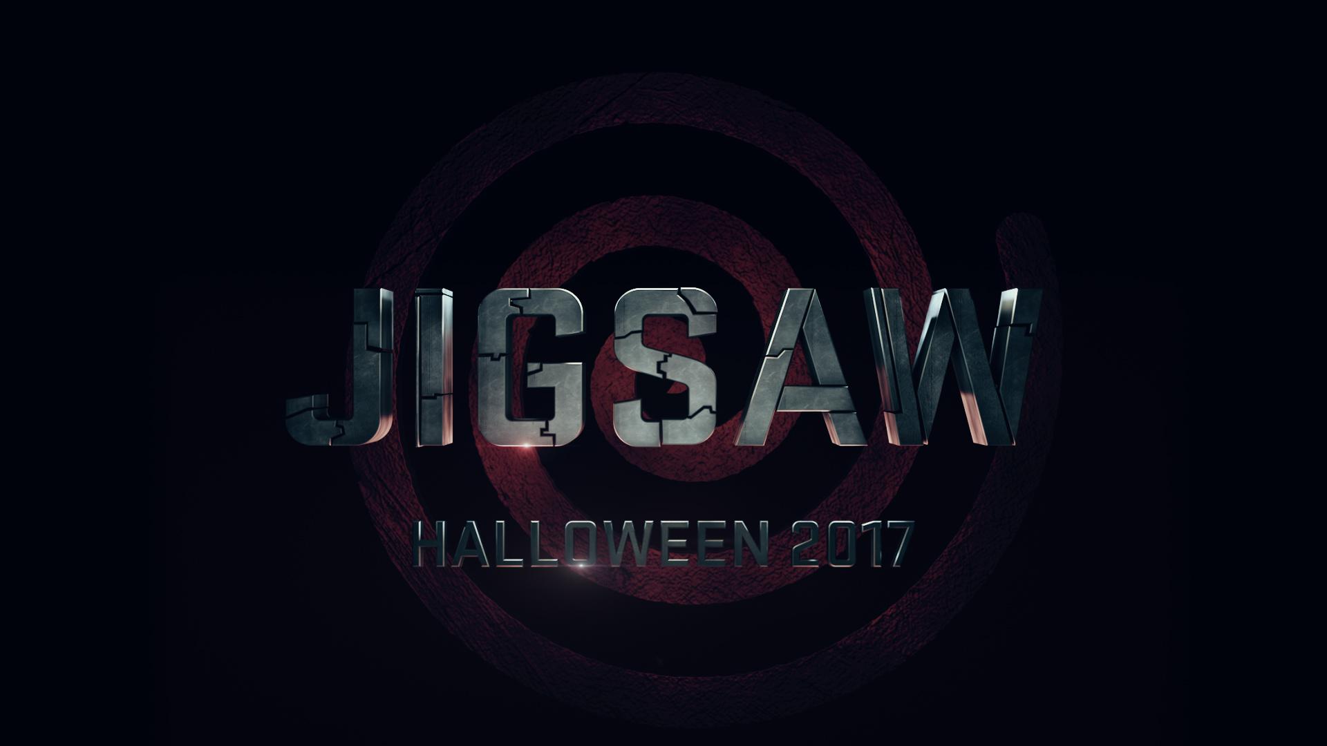 Jigsaw Title Treatment SAW 8 via Lionsgate