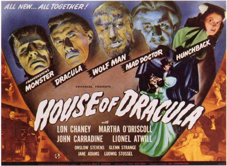 Universal Monsters: The Very First Cinematic Universe - Bloody