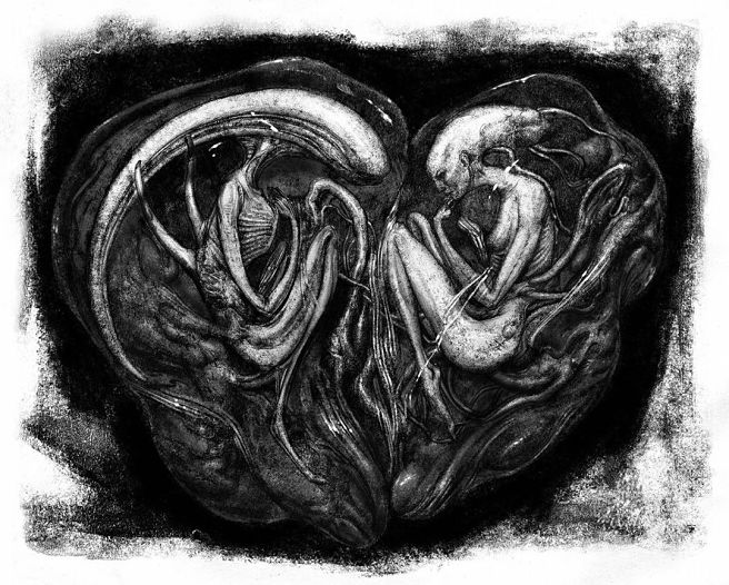 Grotesque 'Alien: Covenant' Drawings Suggest What Happened