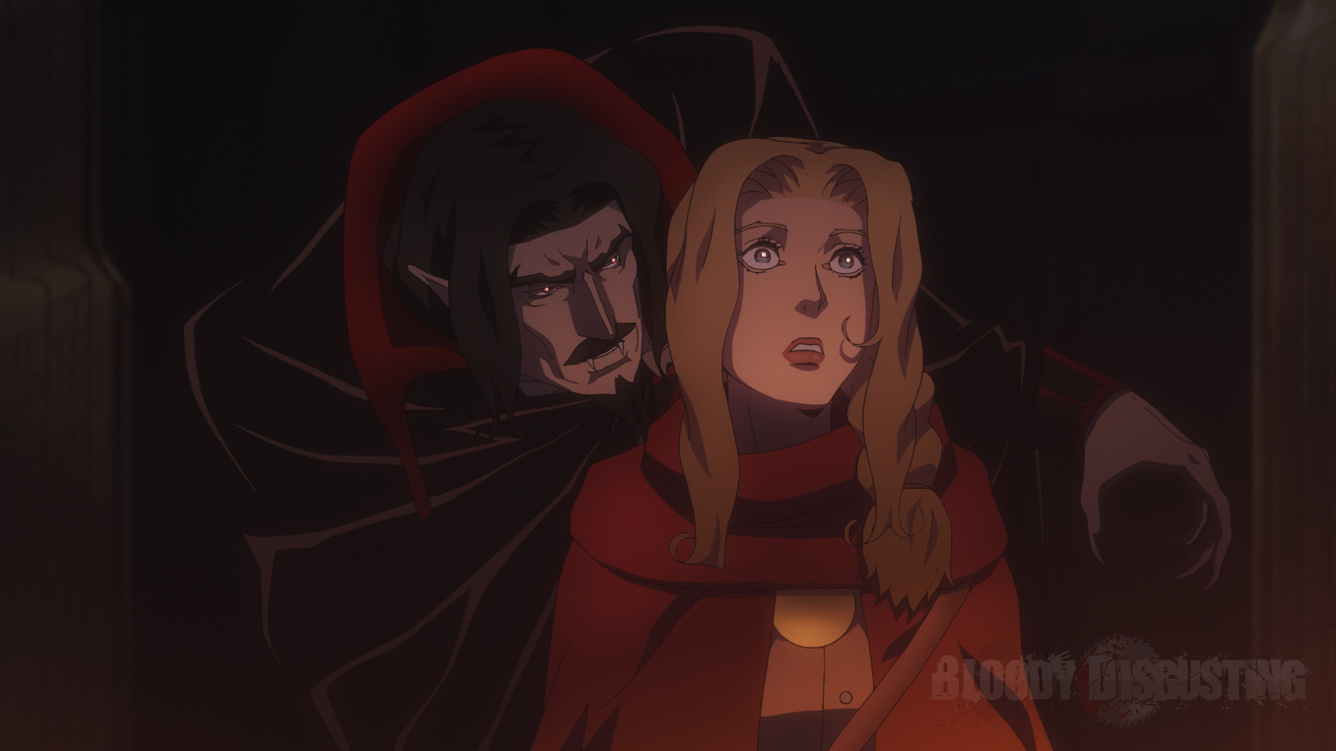 Here S Dracula In Netflix S Castlevania Bloody Disgusting
