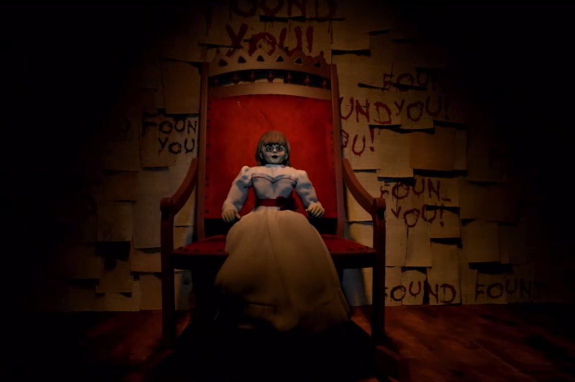 annabelle creation vr experience takes you into a haunted bedroom