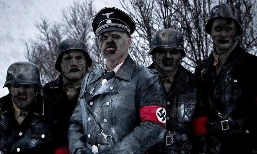 snow zombies Dead nazi