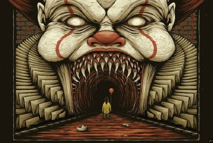 The Most Terrifying It 2017 Poster Has Arrived Bloody Disgusting
