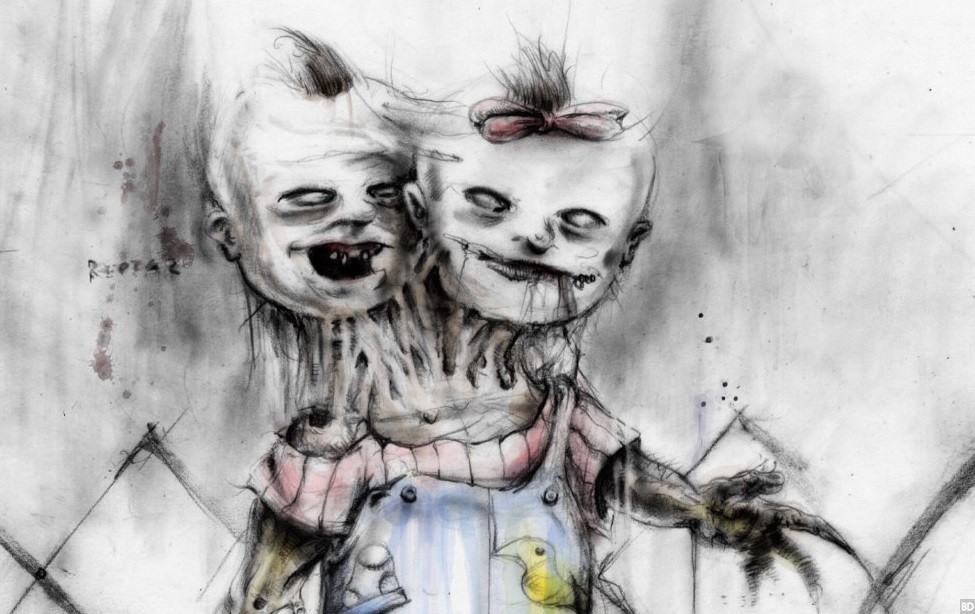 This Awesome Artist Was Inspired By Scary Stories To Tell In The