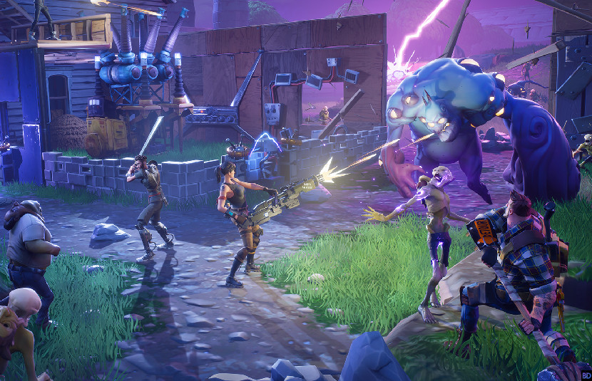 fortnite players enjoyed cross play for a bit - fortnite share play