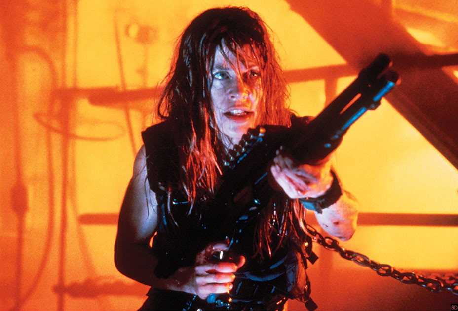 First Look At Linda Hamilton In Now Filming Terminator