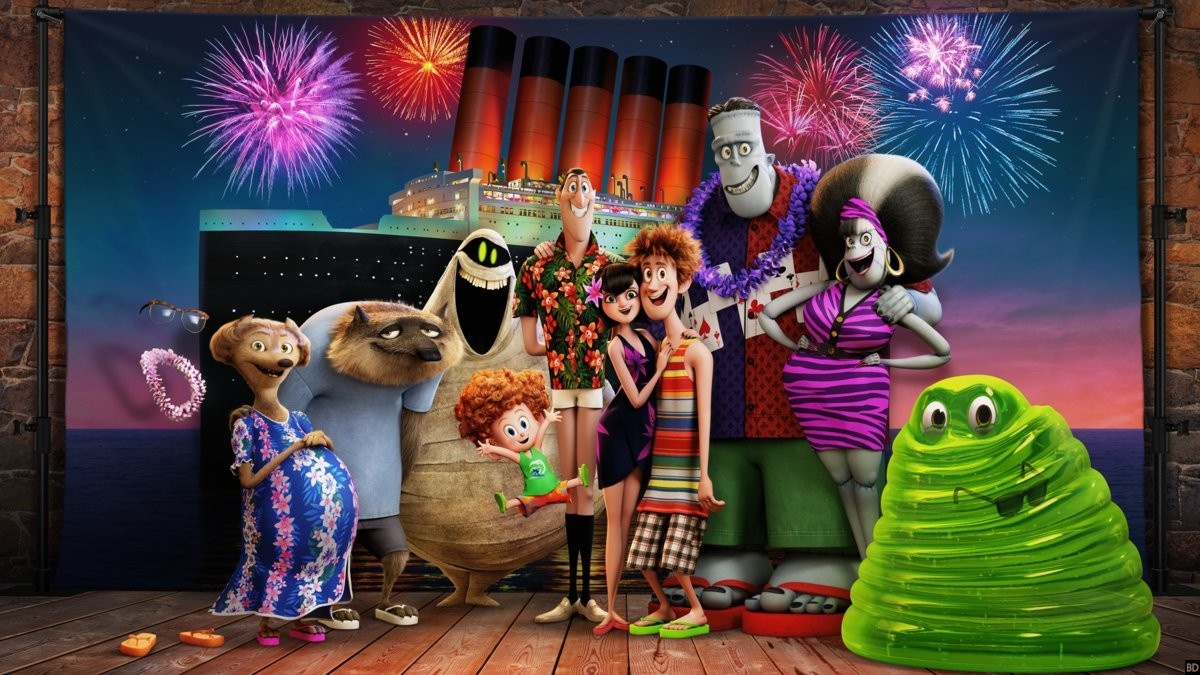 Share Tweet Heres The First Ever Image From Hotel Transylvania 3
