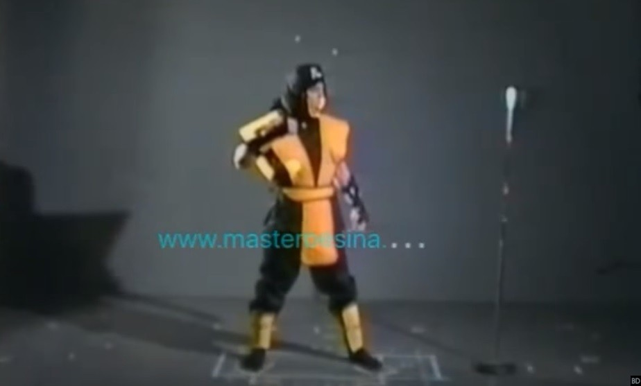 Motion Capture Footage from Original 'Mortal Kombat' is a