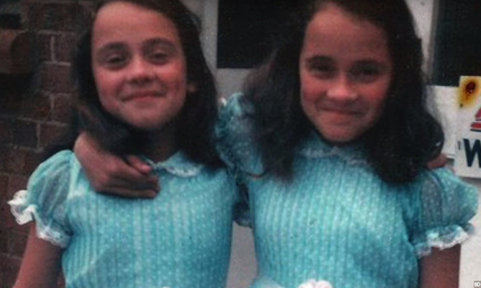twins from the shining nude