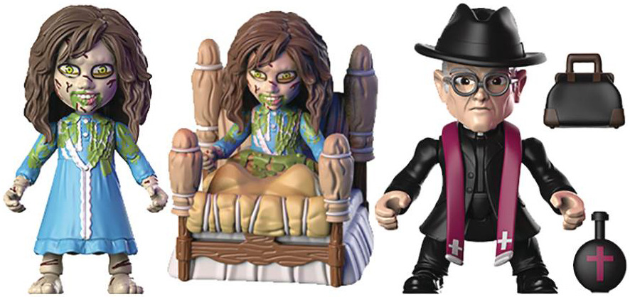 FATHER MERRIN Loyal Subjects x Horror Action Vinyl Figure THE EXORCIST