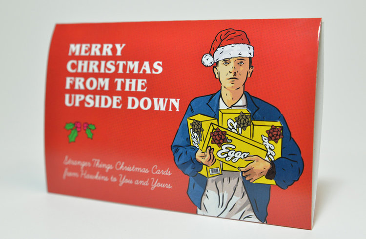 A Stranger Things Christmas.Celebrate Christmas In The Upside Down With These Stranger