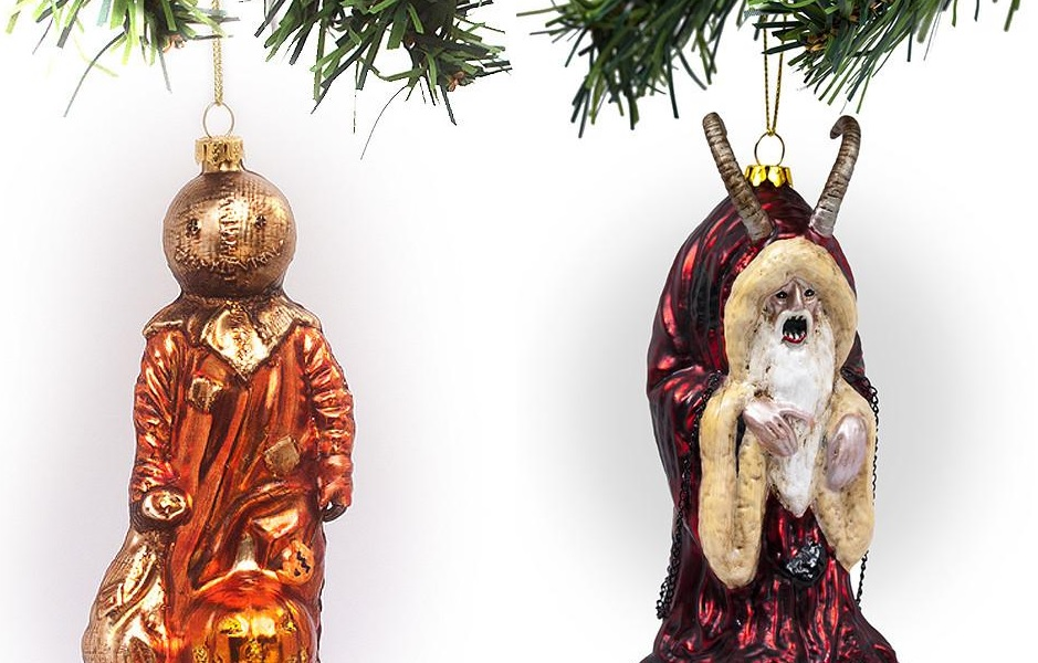 Horror Christmas Ornaments.Middle Of Beyond S Glass Horror Ornaments Are 30 Off Today
