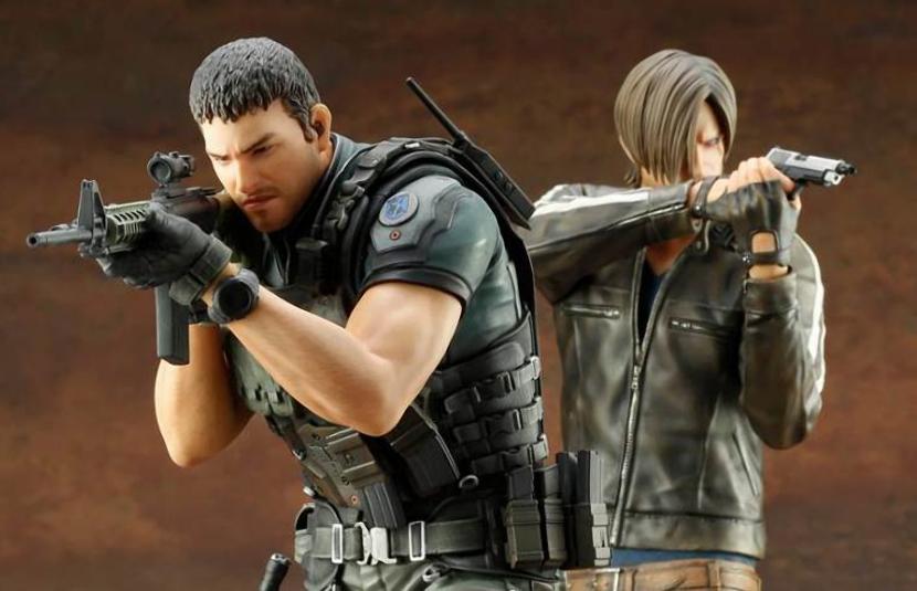Kotobukiya Reveals Two Resident Evil Vendetta Statues Bloody