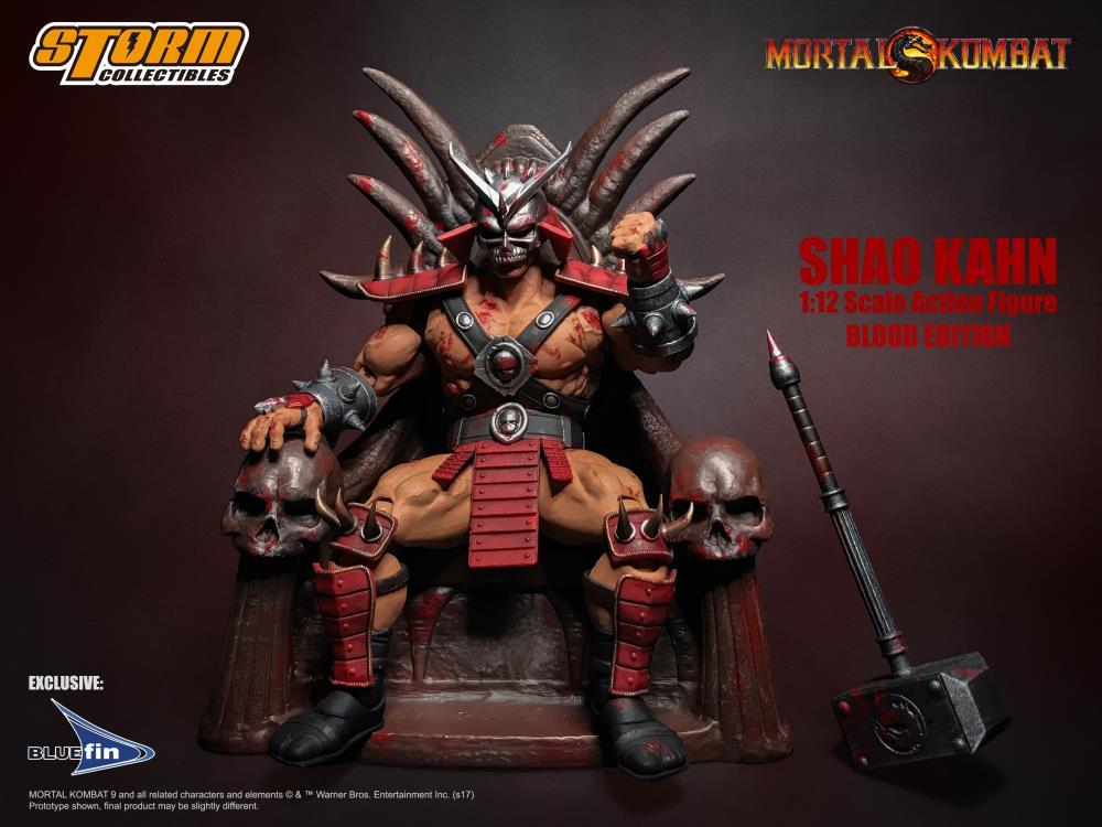 Quot Mortal Kombat Quot Boss Shao Kahn Getting A Bloody And Badass
