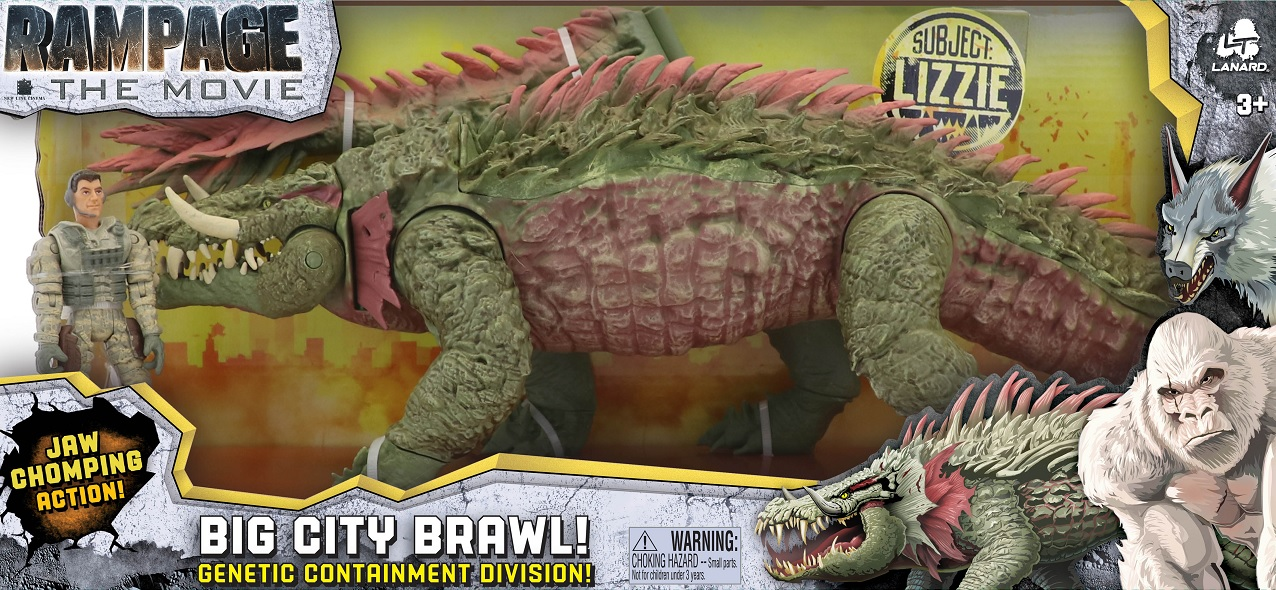 Awesome Rampage Toy Line Gives Us Better Look At The Monsters Bloody Disgusting