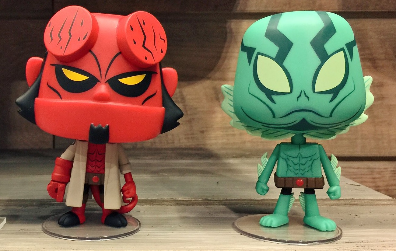 Hellboy Joining Funko S Vynl And Dorbz Toy Lines Bloody Disgusting