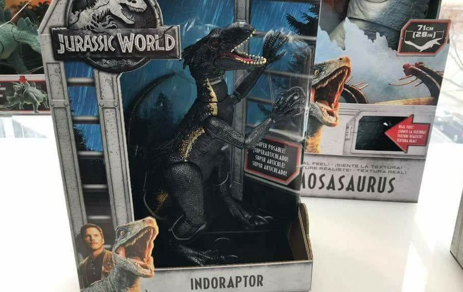 Fallen Kingdom Toy Preview Includes Barbies Indoraptor