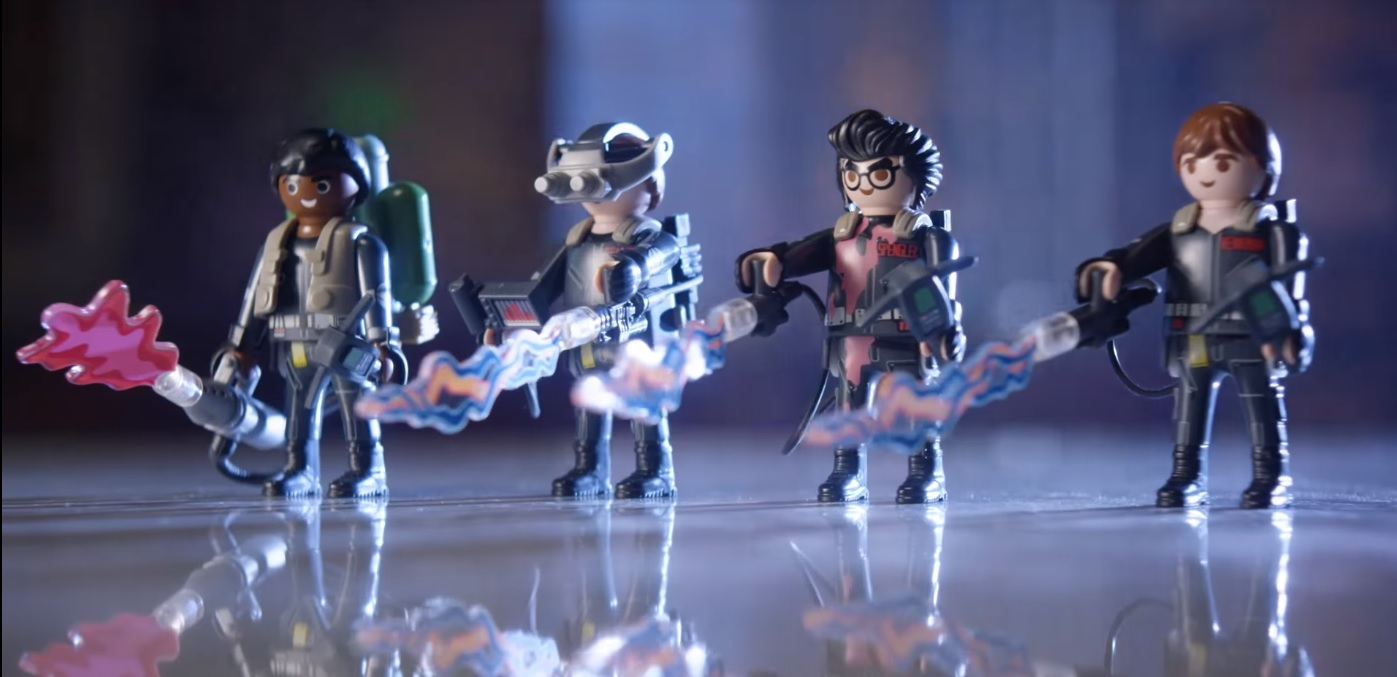 Playmobil's New 'Ghostbusters II' Toys Have Interactive Hologram