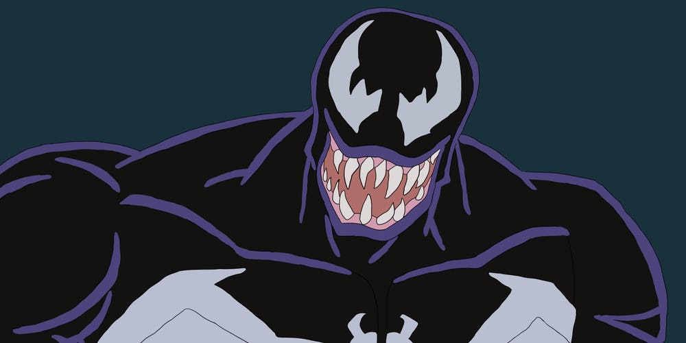 The Latest Venom Trailer Gets Animated Bloody Disgusting