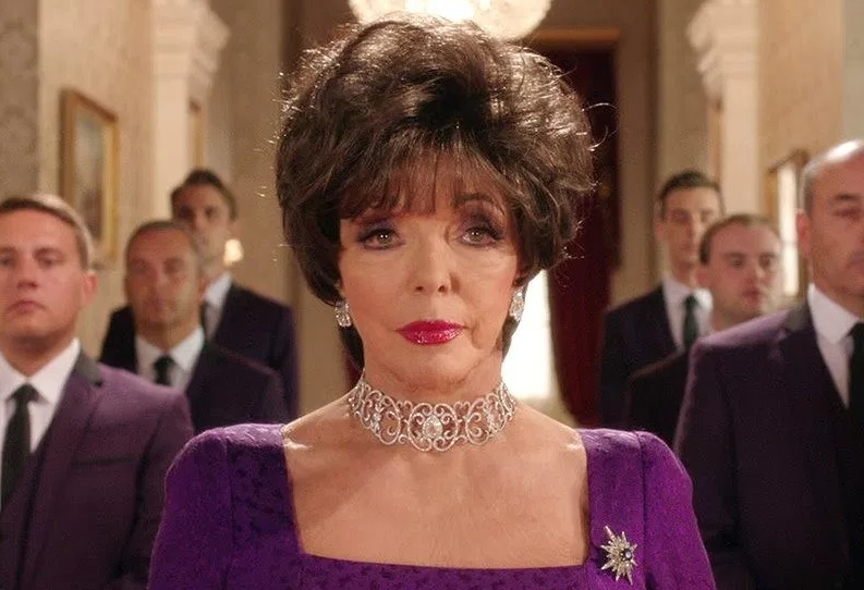 Fake photos of joan collins not
