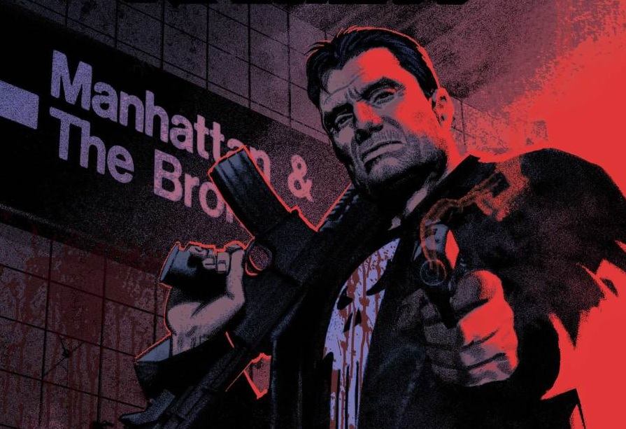 Image result for punisher comic art